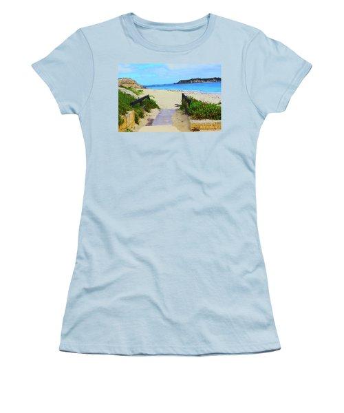 Hamelin Bay Women's T-Shirt (Junior Cut) by Cassandra Buckley