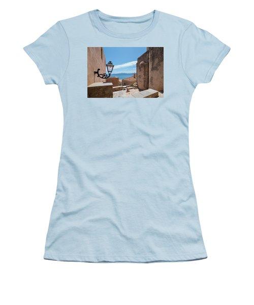 Monemvasia / Greece Women's T-Shirt (Junior Cut) by Stavros Argyropoulos