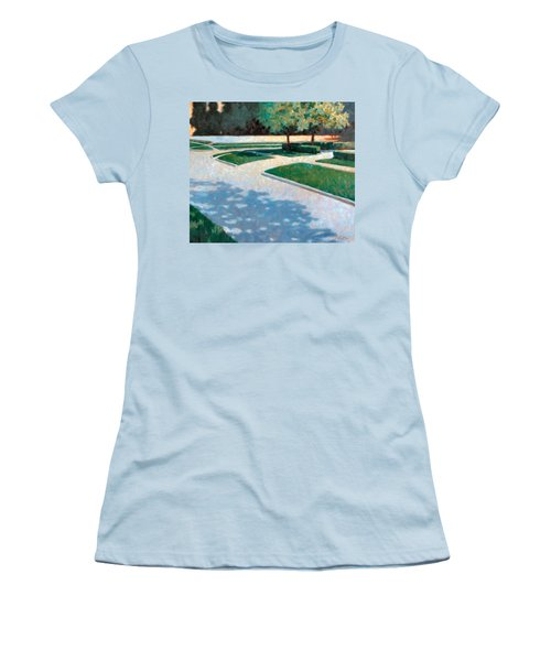 Parking Lot Women's T-Shirt (Athletic Fit)