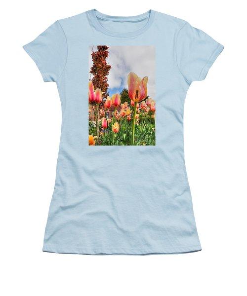 Women's T-Shirt (Junior Cut) featuring the photograph Pink Lemon Aid by Robert Pearson