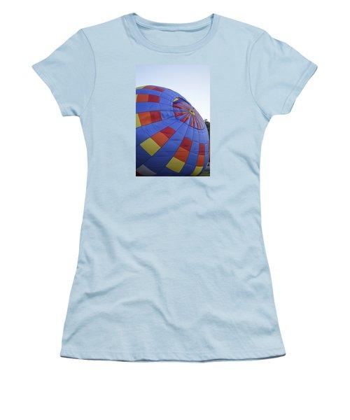 Preparing For Lift Off Women's T-Shirt (Junior Cut) by Linda Geiger