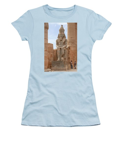 Women's T-Shirt (Athletic Fit) featuring the photograph Rameses by Silvia Bruno