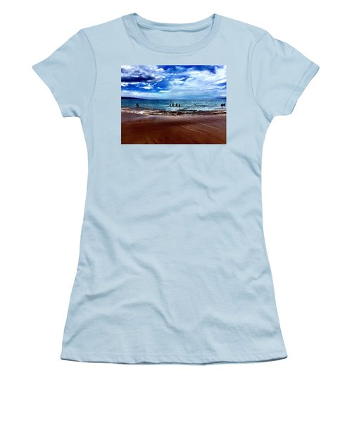 Women's T-Shirt (Junior Cut) featuring the photograph Relax by Michael Albright