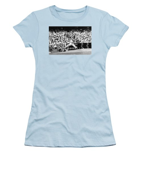 Sandy Koufax (1935- ) Women's T-Shirt (Athletic Fit)