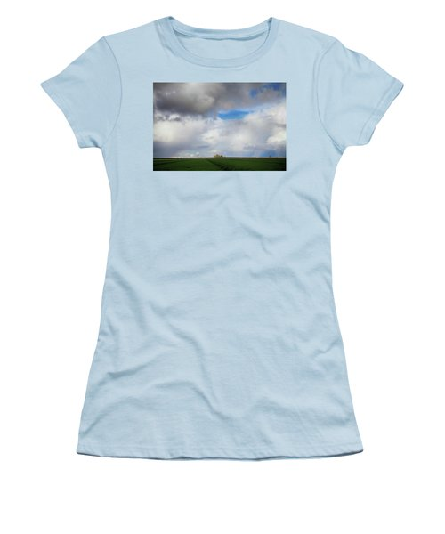 Women's T-Shirt (Junior Cut) featuring the photograph Skyward by Laurie Search