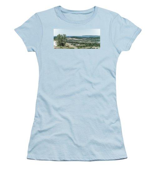 Women's T-Shirt (Junior Cut) featuring the photograph Sleeping Bear Dunes National Lakeshore by Alexey Stiop