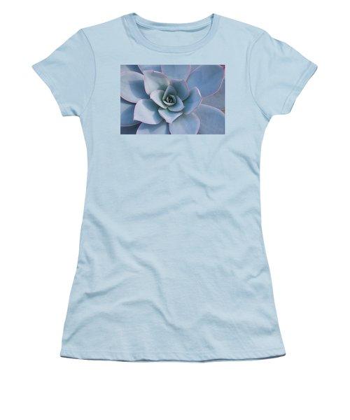 Succulent Beauty Women's T-Shirt (Junior Cut) by Catherine Lau