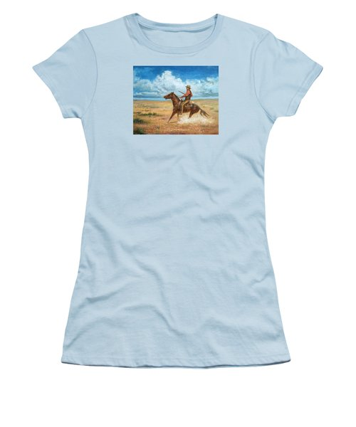 The Tracker Women's T-Shirt (Athletic Fit)