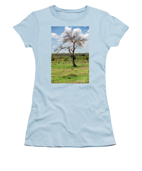 Women's T-Shirt (Junior Cut) featuring the photograph Tree by Charuhas Images