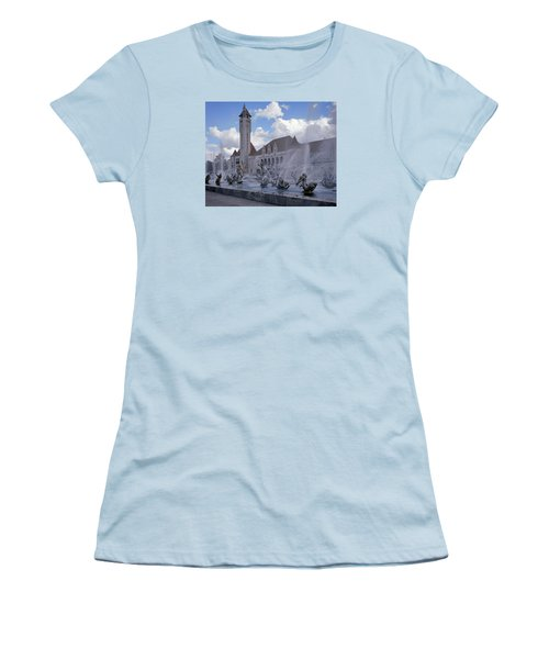 Women's T-Shirt (Junior Cut) featuring the photograph Union Station - St Louis by Harold Rau