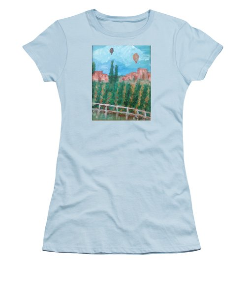 Wine Country Women's T-Shirt (Junior Cut) by Roxy Rich