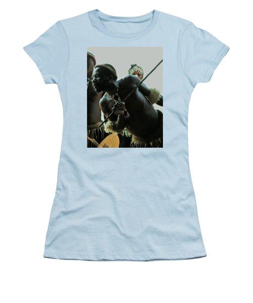 Zulu Warrior Women's T-Shirt (Athletic Fit)