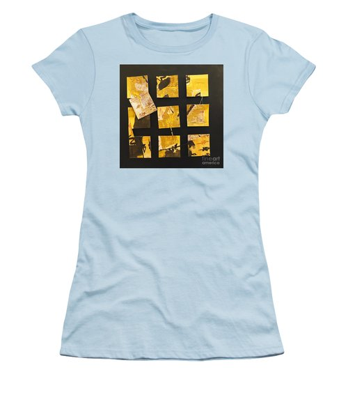 10 Square Women's T-Shirt (Junior Cut) by Gallery Messina