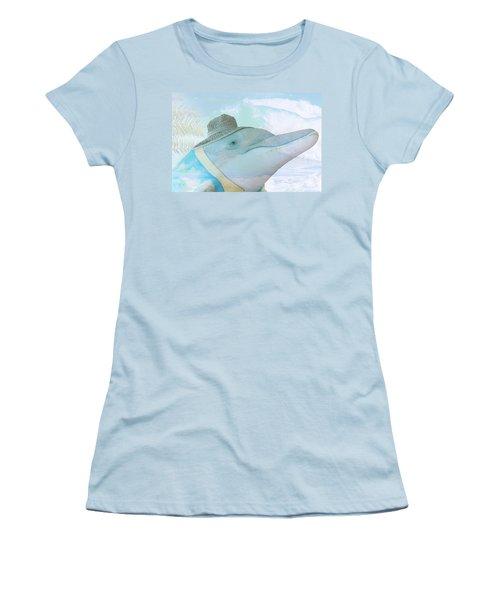 10732 Flipper Women's T-Shirt (Athletic Fit)