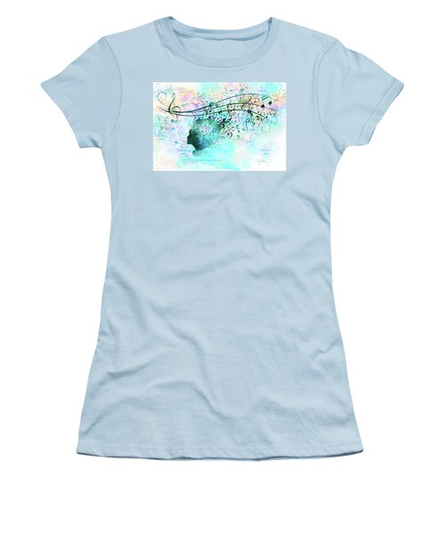 10846 Melodic Dreams Women's T-Shirt (Athletic Fit)