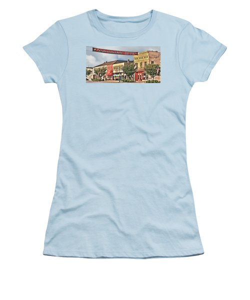 Downtown Perrysburg Women's T-Shirt (Athletic Fit)