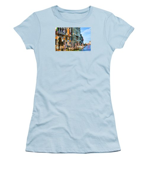 Venice - Untitled Women's T-Shirt (Junior Cut) by Brian Davis