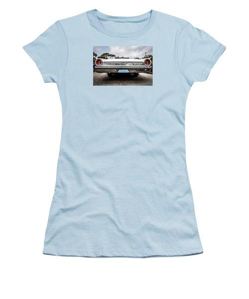 1961 Ford Galaxie 500 Women's T-Shirt (Junior Cut) by Chris Smith