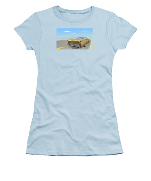 1963 Cadillac De Ville Women's T-Shirt (Athletic Fit)