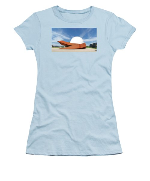 Women's T-Shirt (Junior Cut) featuring the photograph 3d Theater by Hans Engbers