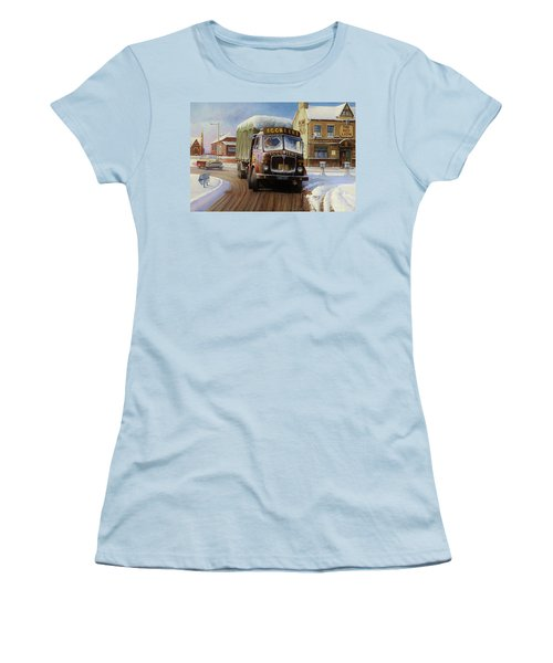 Aec Tinfront Women's T-Shirt (Junior Cut) by Mike  Jeffries