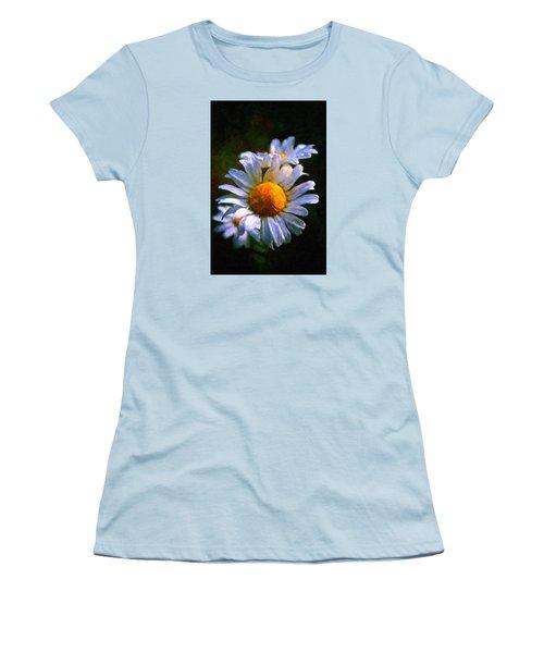 Daisy Women's T-Shirt (Junior Cut) by Andre Faubert