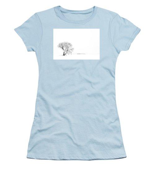 Frozen Morning Women's T-Shirt (Athletic Fit)