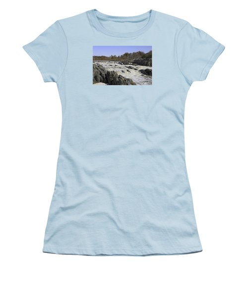 Great Falls Virginia Women's T-Shirt (Athletic Fit)