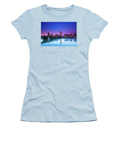 London Big Ben  Women's T-Shirt (Junior Cut) by Mariusz Czajkowski