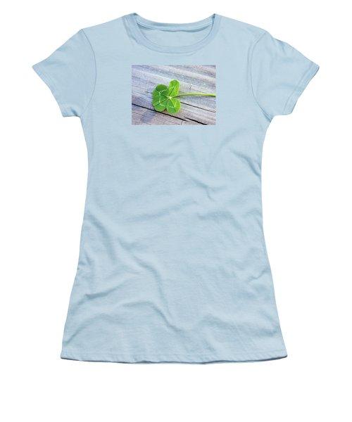 Lucky Women's T-Shirt (Junior Cut) by Kristin Elmquist