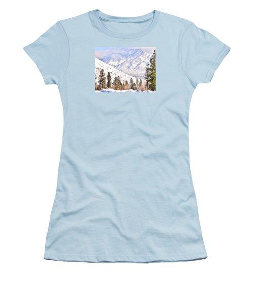 Natural Nature Women's T-Shirt (Junior Cut) by Marilyn Diaz
