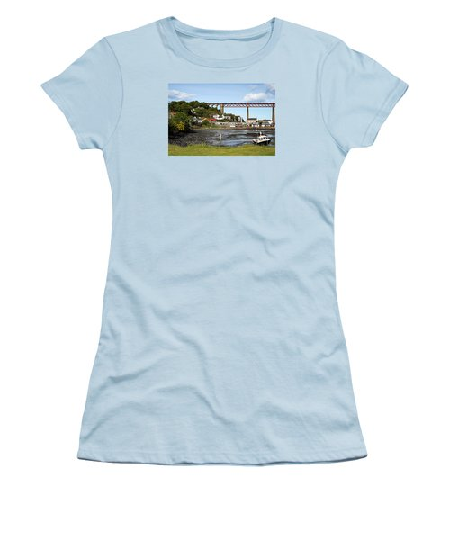 Women's T-Shirt (Junior Cut) featuring the photograph North Queensferry by Jeremy Lavender Photography
