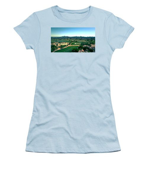 Peaceful Women's T-Shirt (Athletic Fit)
