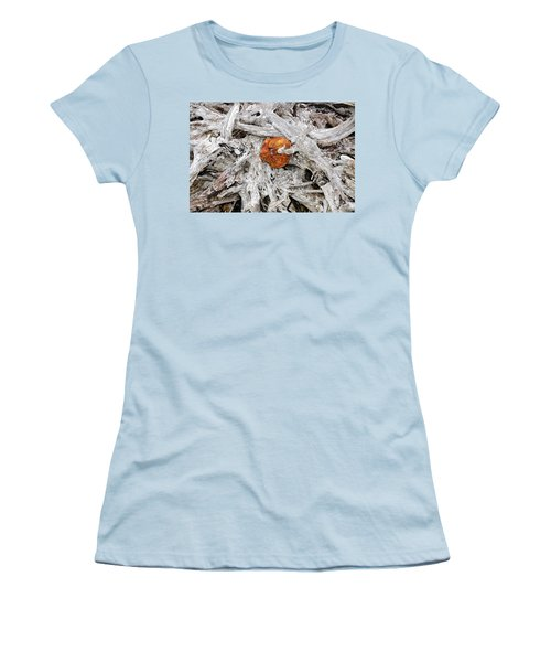 Women's T-Shirt (Junior Cut) featuring the photograph Seattle Morning by David Lee Thompson