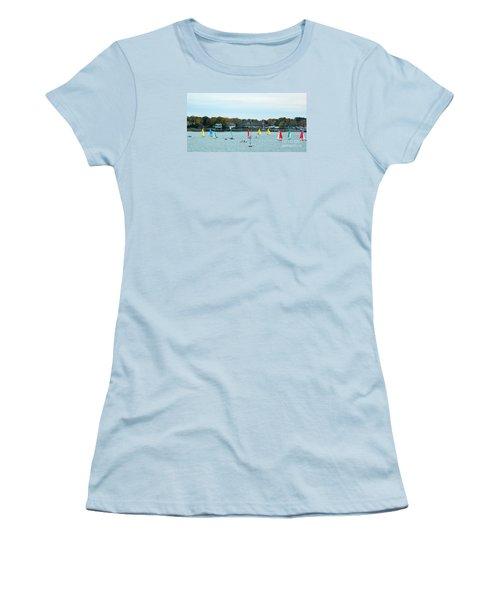 Sailing Women's T-Shirt (Junior Cut) by Raymond Earley