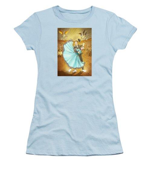 The Magic Dancing Shoes Women's T-Shirt (Junior Cut) by Reynold Jay