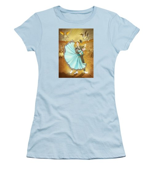 The Magic Dancing Shoes Women's T-Shirt (Athletic Fit)