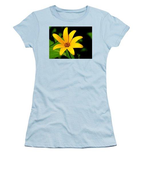 Women's T-Shirt (Junior Cut) featuring the photograph Wild Flower by Eric Switzer