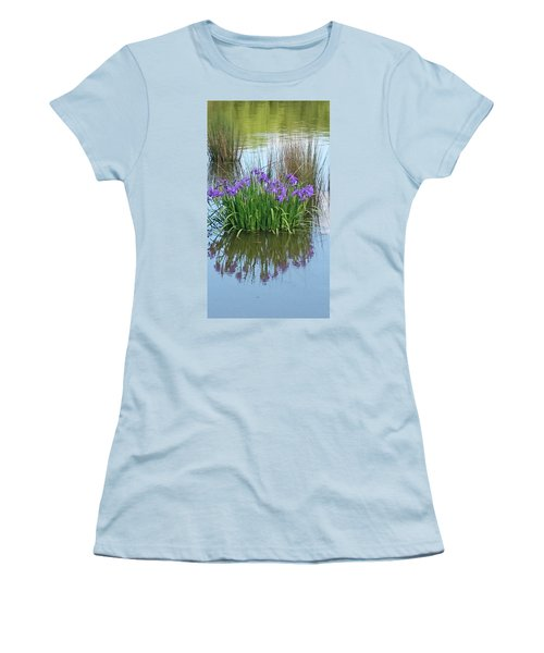 Iris Women's T-Shirt (Junior Cut) by Sobajan Tellfortunes