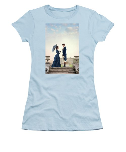 Victorian Couple  Women's T-Shirt (Athletic Fit)
