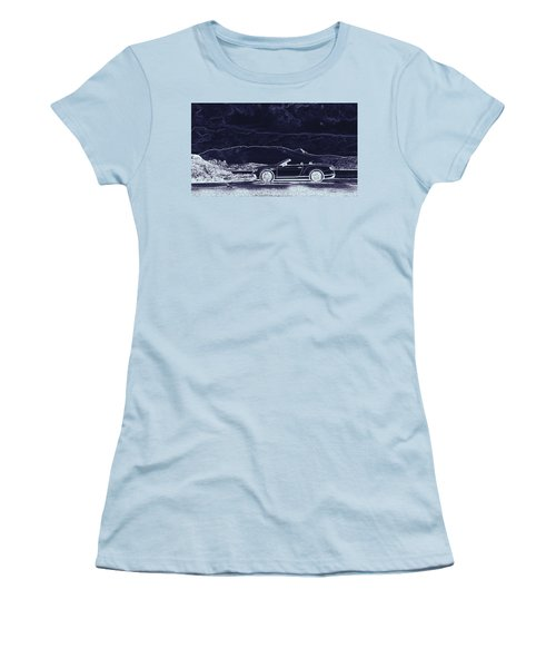 Bentley Continental Gt Women's T-Shirt (Athletic Fit)