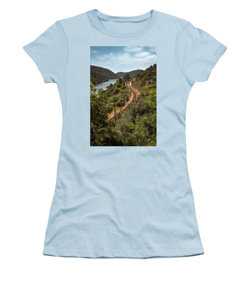 Women's T-Shirt (Junior Cut) featuring the photograph Belver Landscape by Carlos Caetano