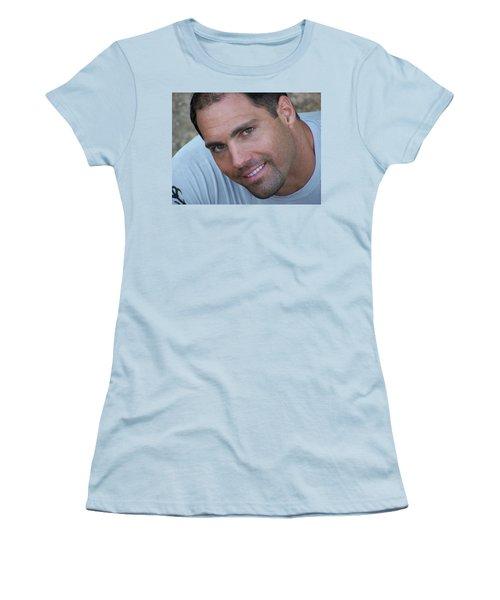 Women's T-Shirt (Junior Cut) featuring the photograph Franco Corelli by Jake Hartz