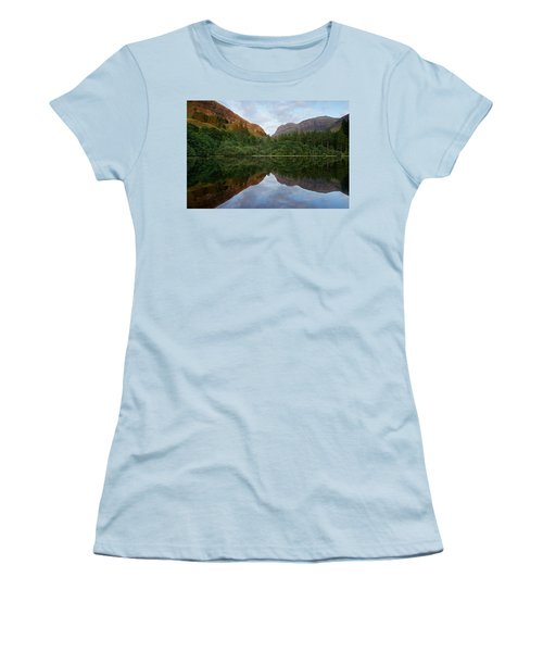 Golden Light In Glencoe Women's T-Shirt (Athletic Fit)