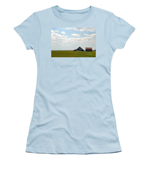 I'll Fly Away Women's T-Shirt (Athletic Fit)