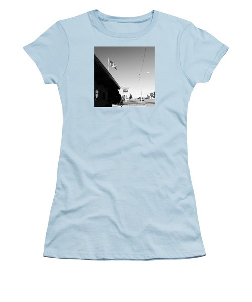 Small Town Life Women's T-Shirt (Athletic Fit)