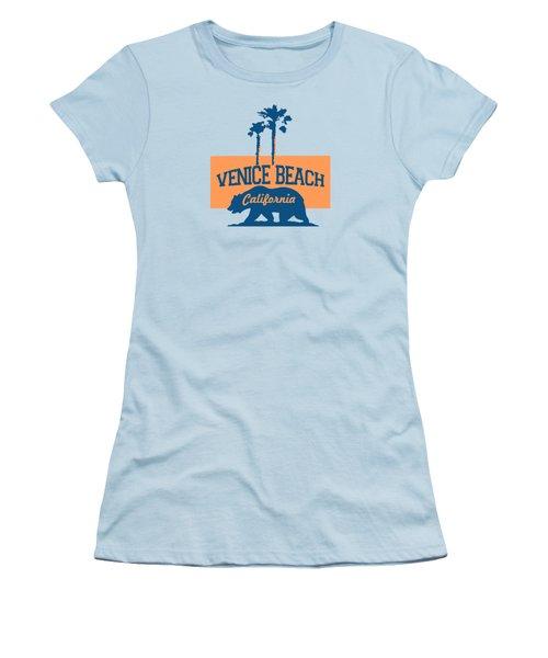 Venice Beach La. Women's T-Shirt (Junior Cut) by Lerak Group LLC