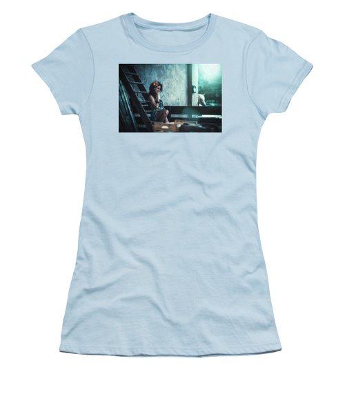 Women's T-Shirt (Athletic Fit) featuring the photograph ... by Traven Milovich