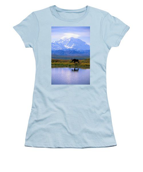 Denali National Park Women's T-Shirt (Athletic Fit)