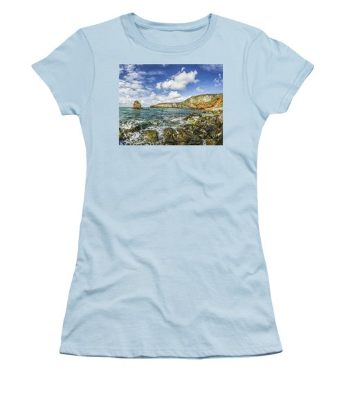 Gwenfaens Pillar Women's T-Shirt (Junior Cut) by Ian Mitchell